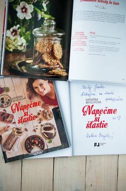 Foodstyling pre kuchársku knihu Katky Brychtovej