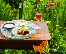 Letný obed, produkcia na webovú stránku
