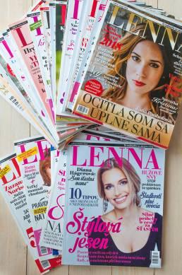 Obsahový marketing, tvorba lifestylového magazínu LENNA na kľúč