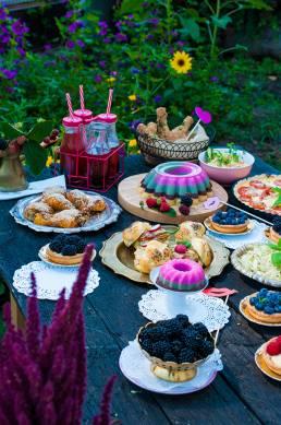 Letná párty foodstyling
