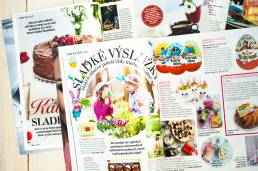 Produktové PR v lifestylovom časopise